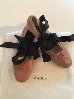 ZARA - Echtleder Ballerinas