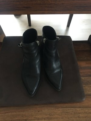 Zara Echtleder Boots neuwertig, Bloggerliebling