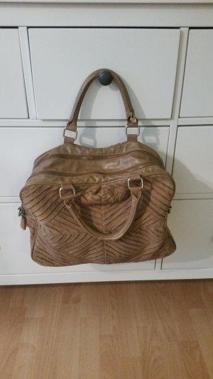 Zara Echtleder Handtasche