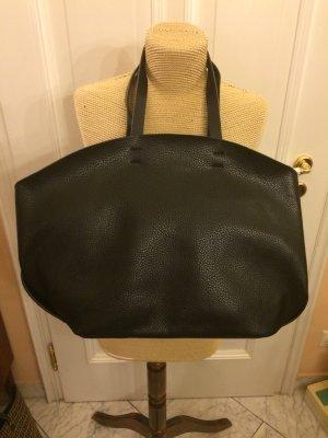Zara Echtleder Tasche schwarz top Zustand