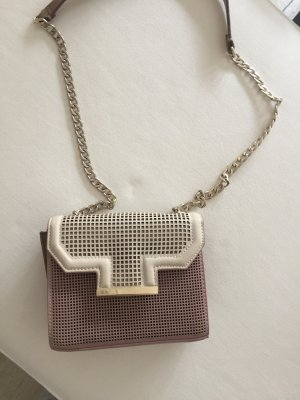 Zara Handbag rose-gold-coloured-cream