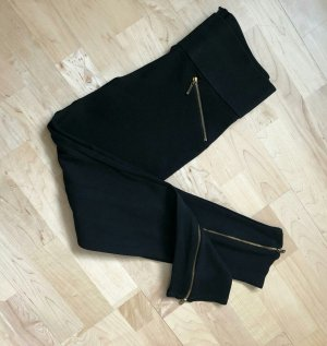 Zara Leggings negro Sintético