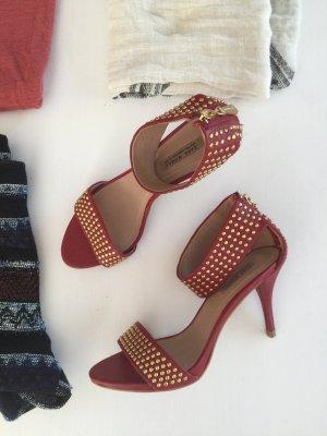 ZARA elegante Riemchen Sandaletten Nieten 39 neuw
