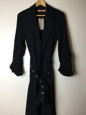 Zara Trenchcoat bleu-bleu foncé