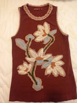 Zara Embroidery Top, Gr. 38