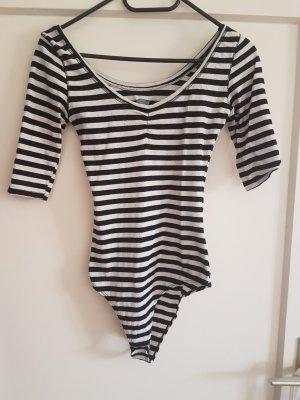 Zara Shirt Body black-oatmeal
