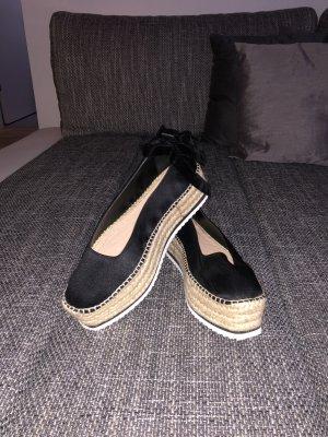 Zara Espadrille sandalen zwart