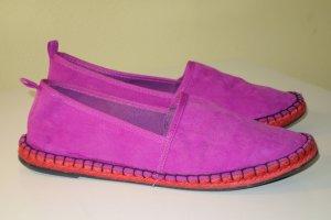 Zara Trafaluc Espadrille Sandals violet