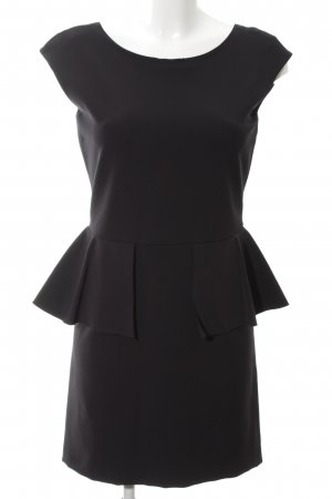 Zara Etuikleid schwarz Business-Look
