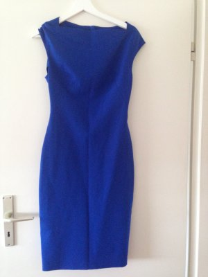 Zara Sheath Dress blue polyester
