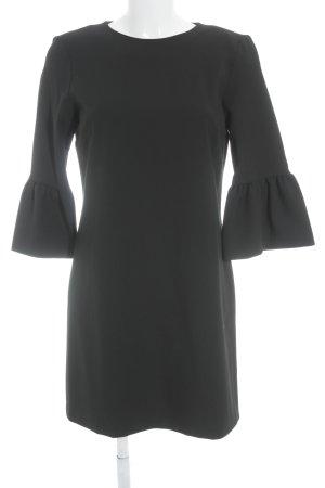 Zara Robe fourreau noir style classique