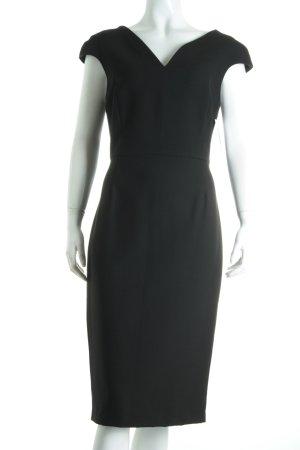 Zara Etuikleid schwarz klassischer Stil