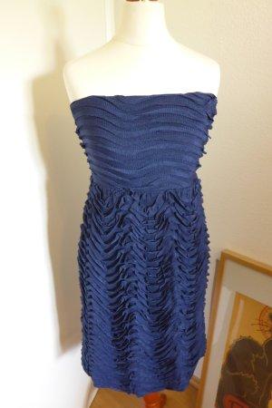 Zara Evening Abendkleid Party, blau, Gr. S, wie neu