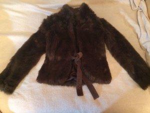 Zara Fake Fur Jacke, Gr.34