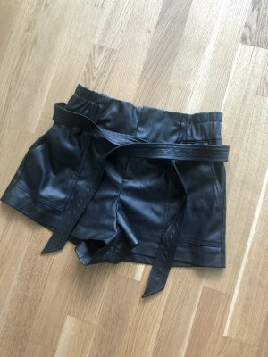 Zara Fakeleather Shorts