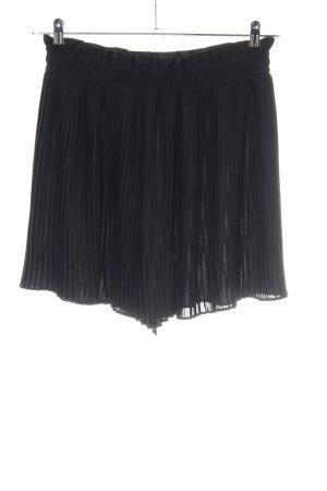 Zara Plaid Skirt black casual look