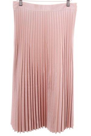 Zara Jupe à plis vieux rose style d'affaires