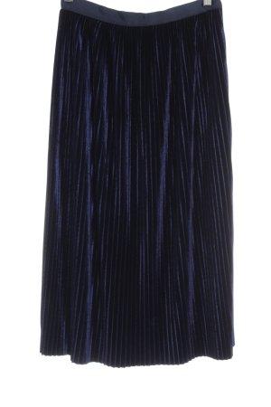 Zara Falda a cuadros azul estilo «business»
