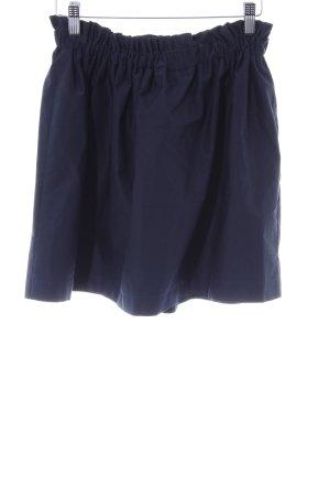 Zara Faltenrock dunkelblau Elegant