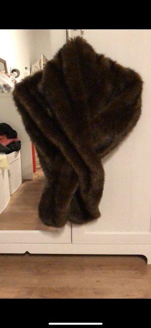 Zara Faux Fur Schal
