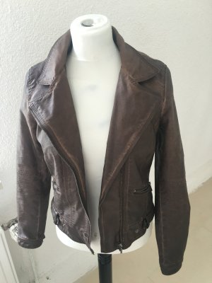 Zara faux leather Jacke zu verkaufen