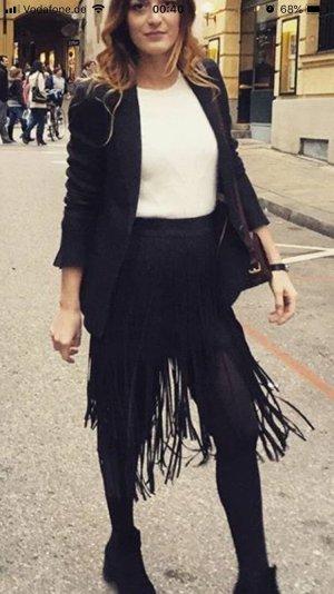 Zara Jupe asymétrique noir