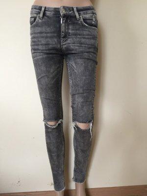 Zara Woman Stretch jeans veelkleurig