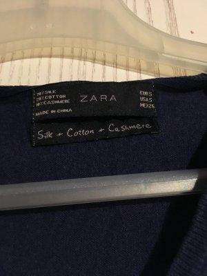 Zara Feinstrickpullover mit Cashmere und Seide, S