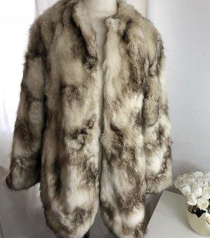 Zara Fur Jacket light brown-beige