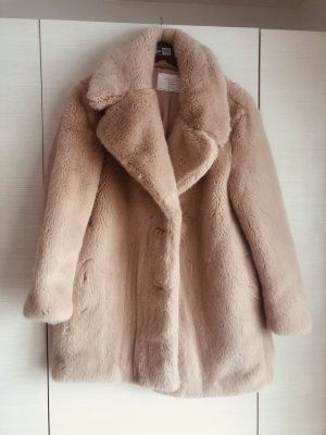 Zara Fellmantel Faux Fur Fake Fur