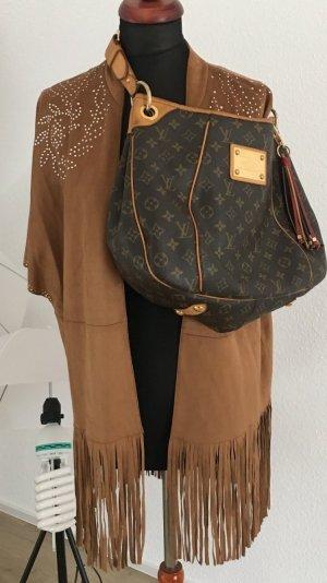 Zara Cape multicolore faux cuir
