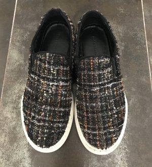 zara Flats Sneaker aus Boucle in n gr. 37
