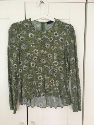 Zara Floral Bluse Gr XS
