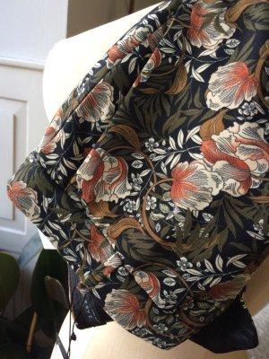 Zara - florale Hose, gerade geschnitten, toller Stoff, NEU, Gr. 38