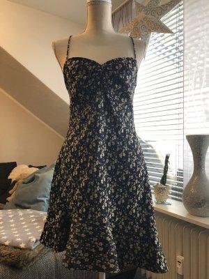 Zara florales Mini Kleid 36 Neu