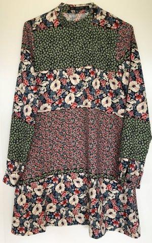 ZARA Flower SS16 Kleid - nur 1x getragen