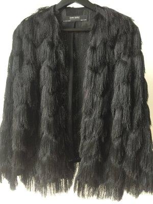 Zara Basic Giacca corta nero