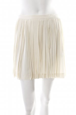 Zara Fringed Skirt cream