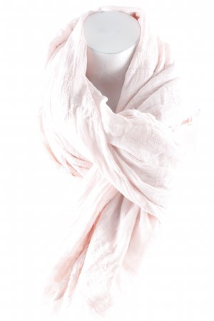 Zara Fransenschal hellrosa abstraktes Muster Paris-Look