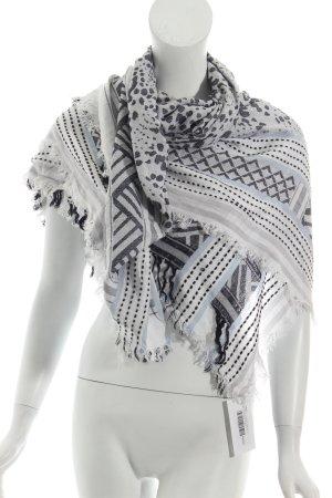 Zara Fransenschal Mustermix Street-Fashion-Look