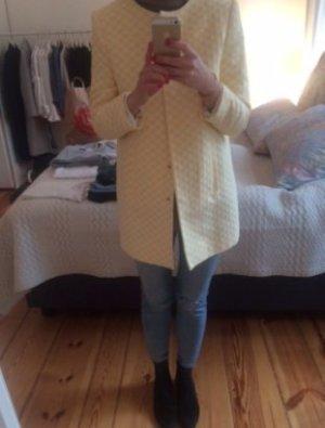 Zara Boyfriend Blazer white-neon yellow