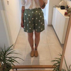 Zara gepunktete weite sommerliche Shorts High Waist