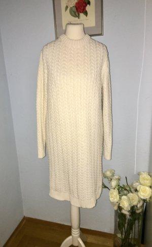 Zara Abito maglione bianco sporco