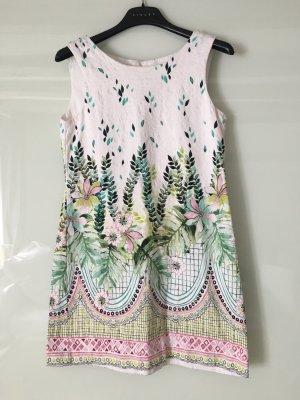Zara Mini Dress multicolored cotton