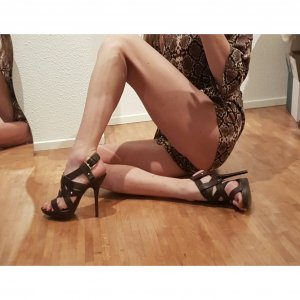 Zara Gladiator High Heels Sandaletten