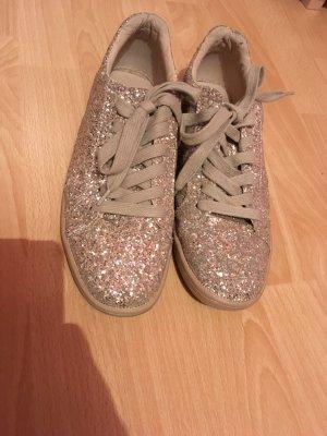 Zara glitzer Sneaker, sneaker von zara Glitzer