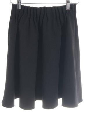Zara Flared Skirt black casual look
