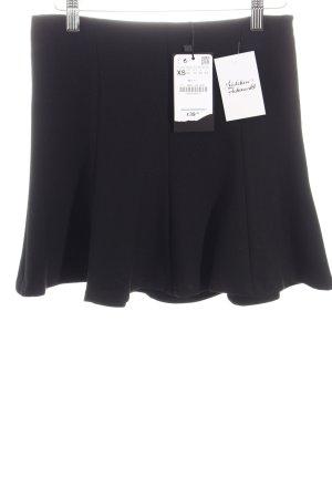 Zara Glockenrock schwarz klassischer Stil