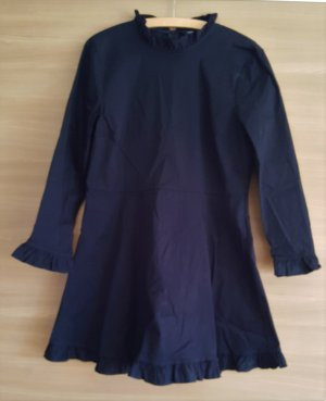 Zara Robe en jean noir coton