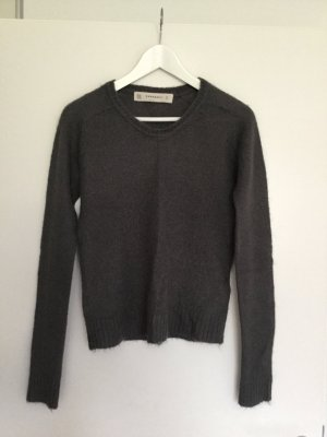 ZARA Grau Pullover Sweater Top S